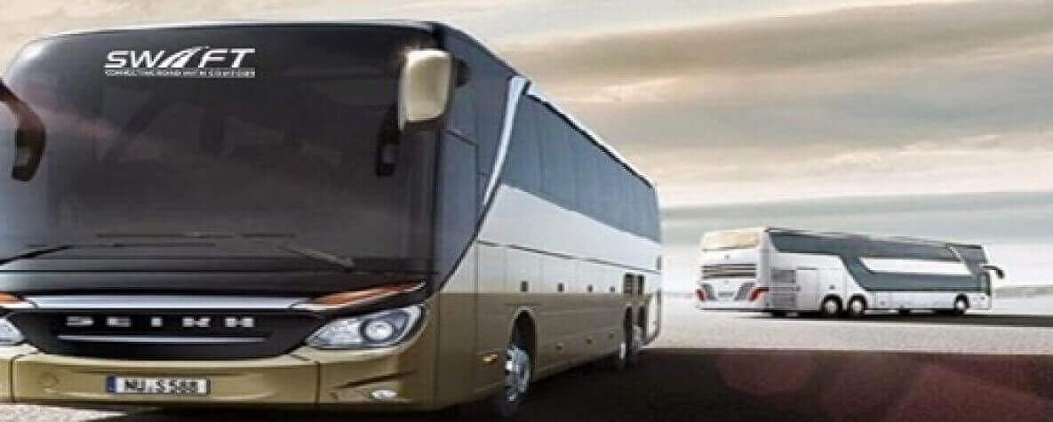Renting a shuttle Vs bus charter